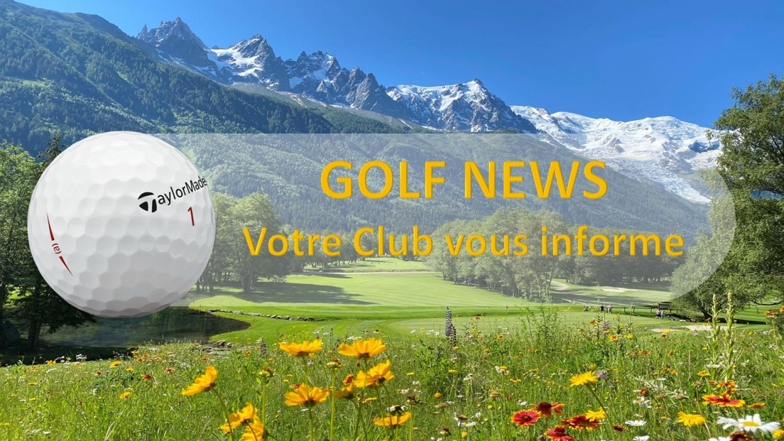 Newsletters Golf Club de Chamonix