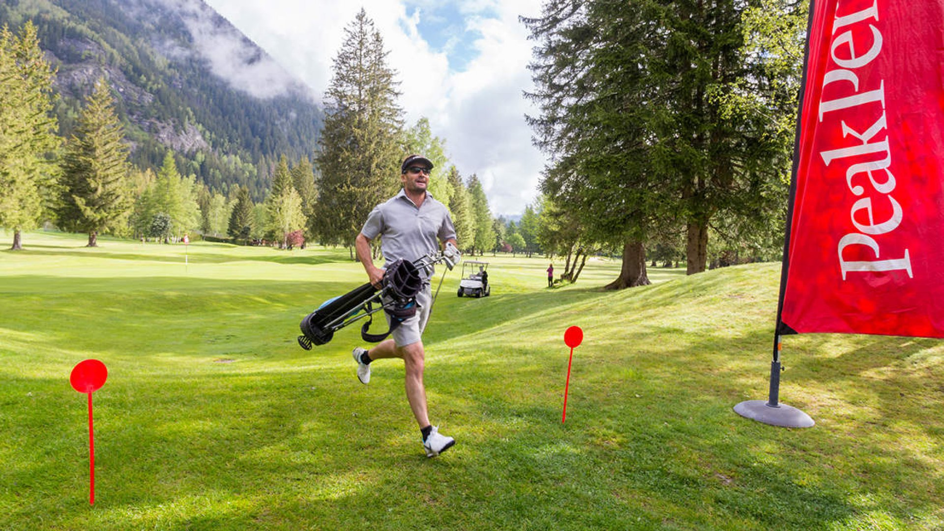 Speed golf de Chamonix